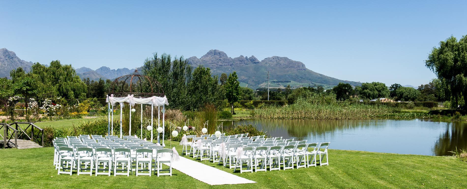 Hudsons Garden Wedding Ceremonies Stellenbosch